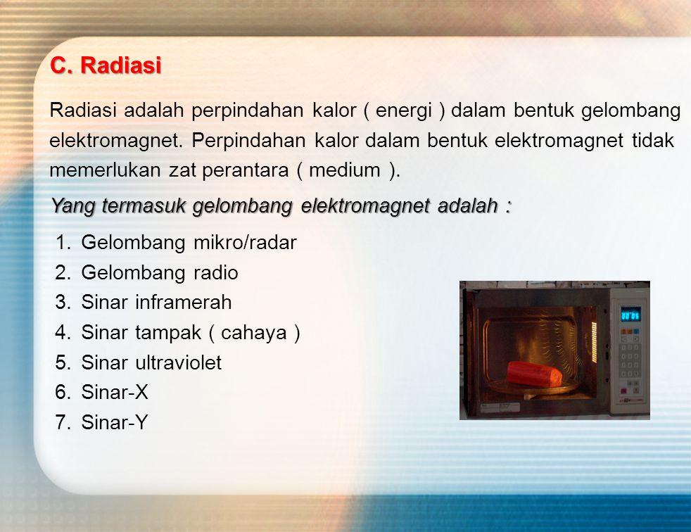C. Radiasi