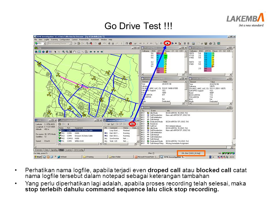 Go Drive Test !!!