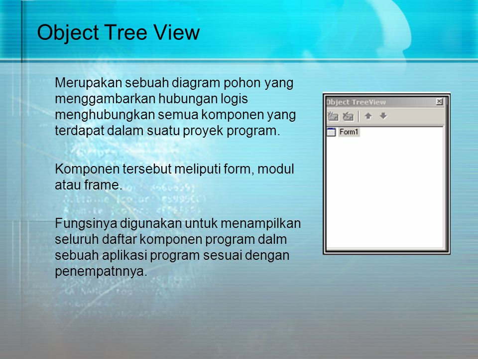 Object Tree View