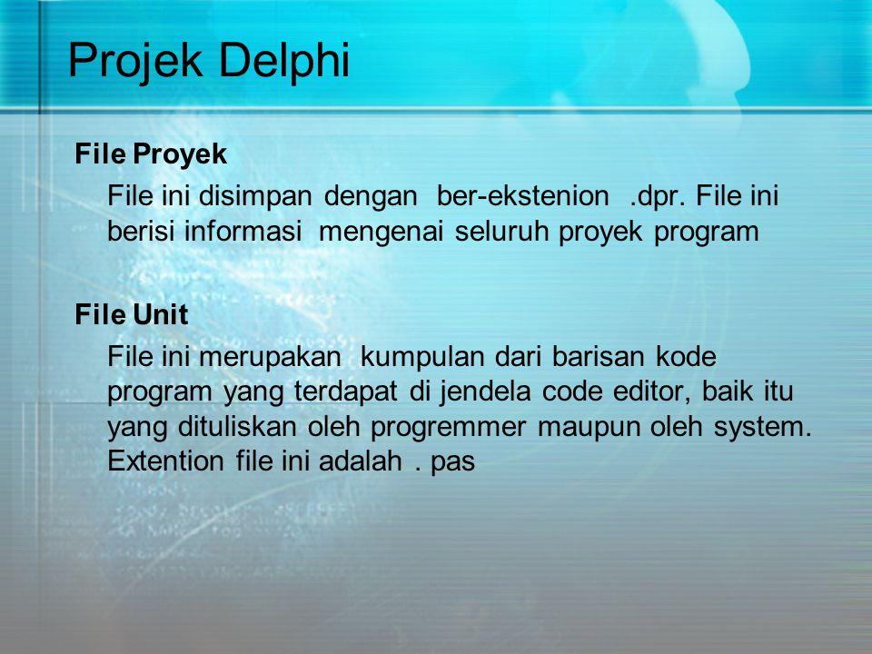Projek Delphi