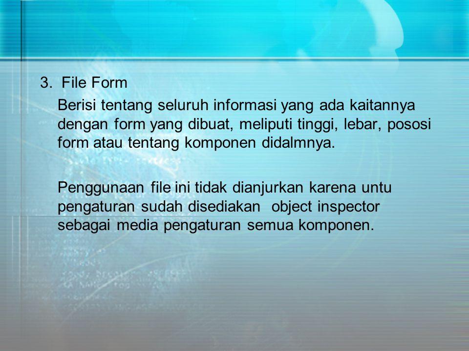 3. File Form