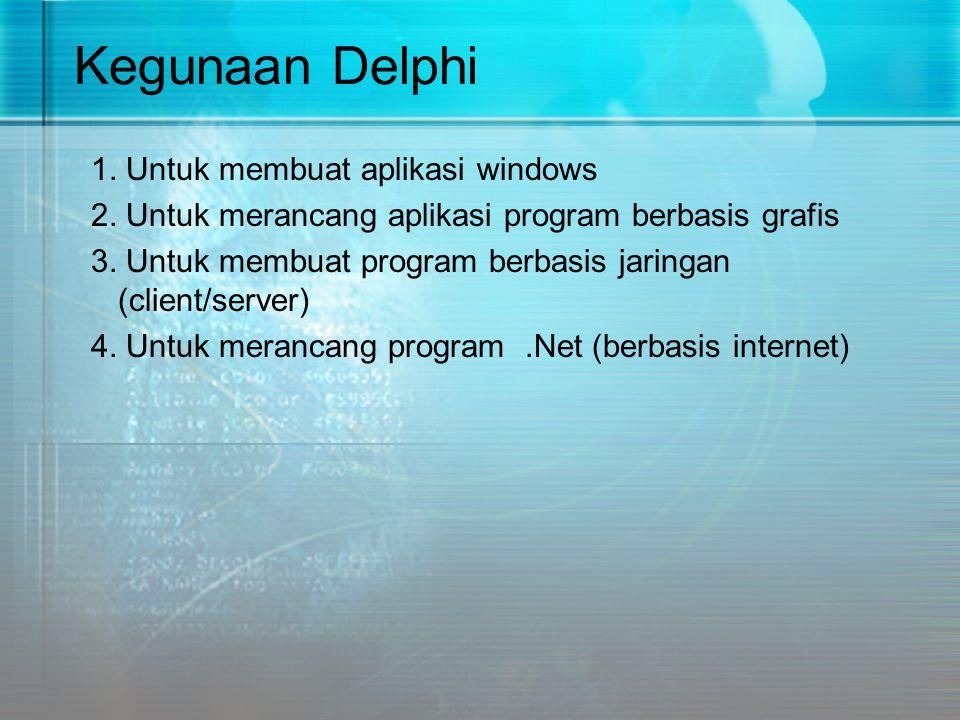 Kegunaan Delphi