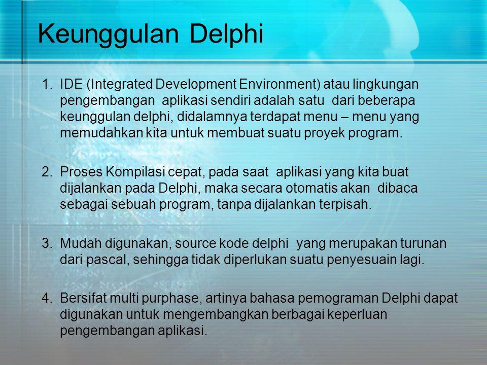 Keunggulan Delphi