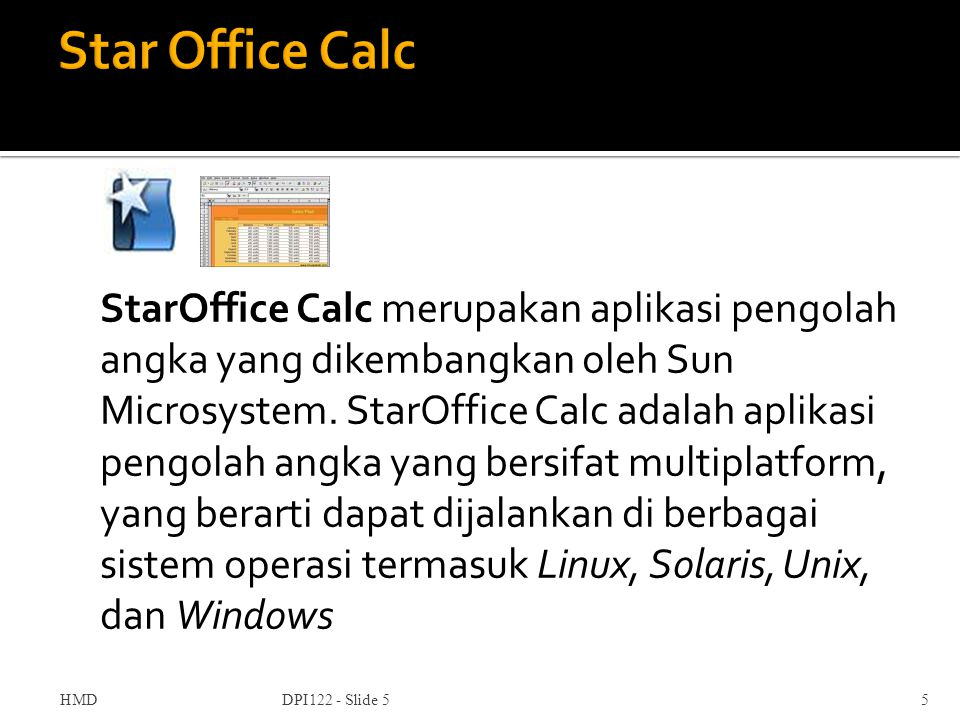 Star Office Calc