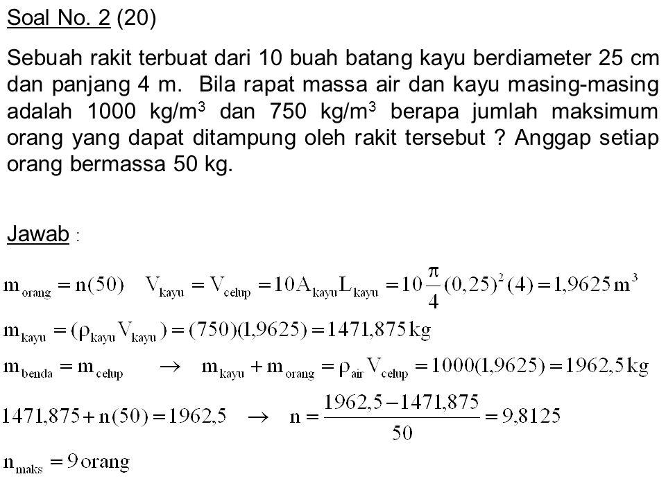 Soal No. 2 (20)