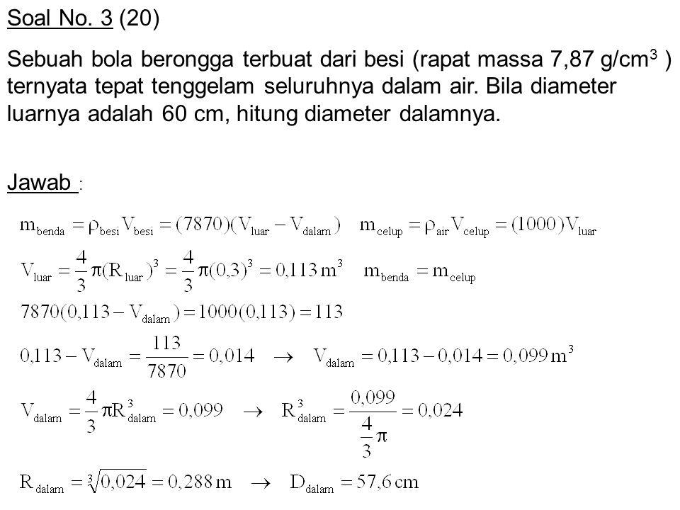 Soal No. 3 (20)