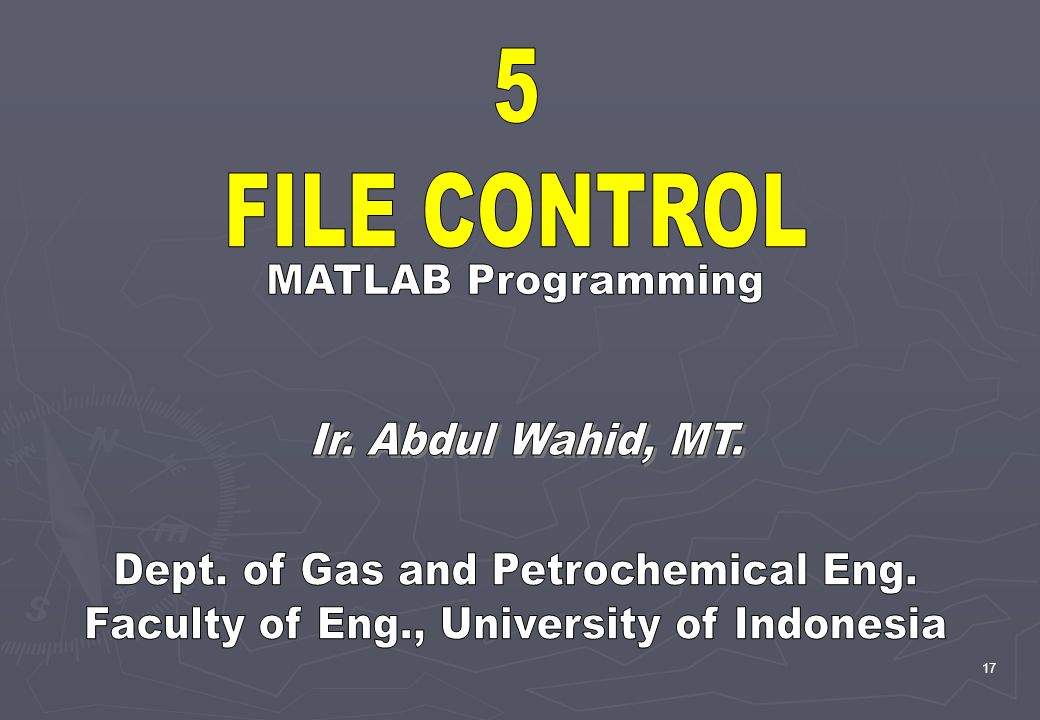 Dept. of Gas and Petrochemical Eng.