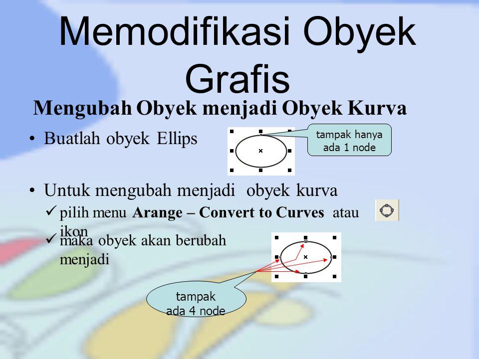 Memodifikasi Obyek Grafis