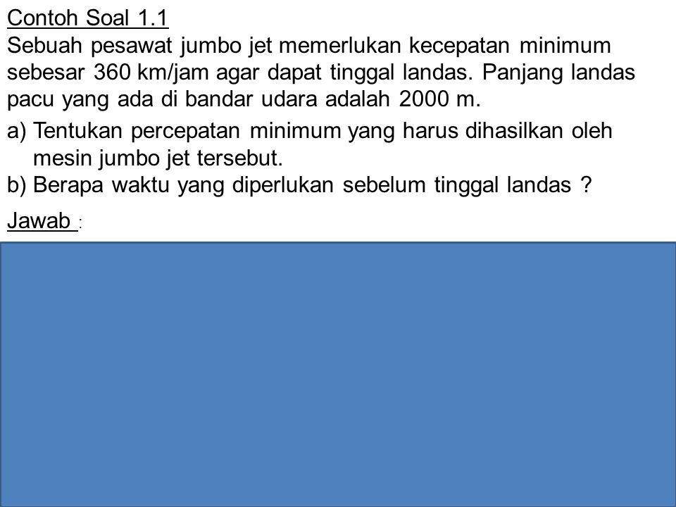 Contoh Soal 1.1