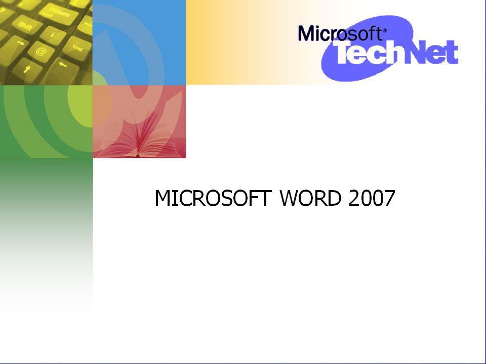 MICROSOFT WORD 2007 Oleh EDI PURWANTO