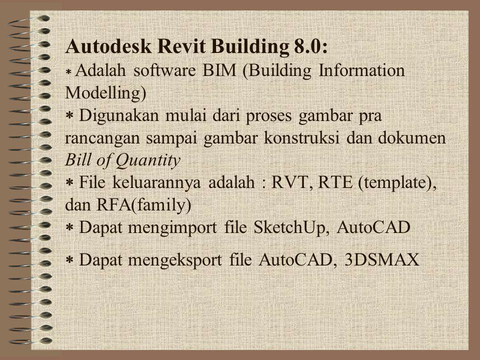 Autodesk Revit Building 8. 0: