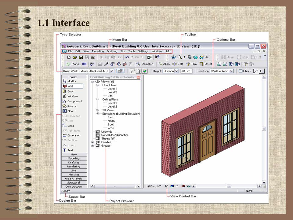 1.1 Interface