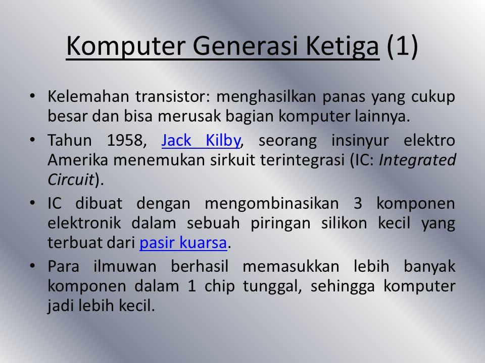 Komputer Generasi Ketiga (1)
