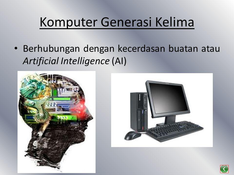 Komputer Generasi Kelima