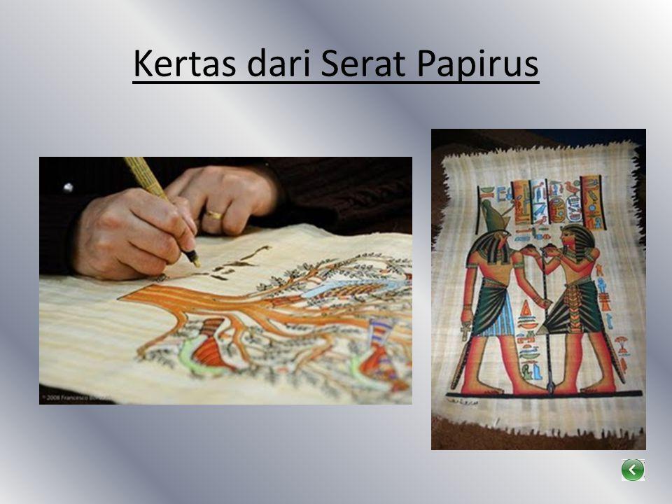 Kertas dari Serat Papirus