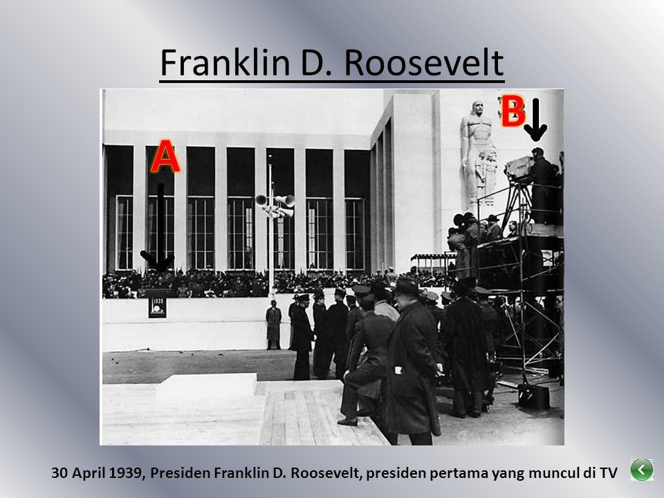 B A Franklin D. Roosevelt