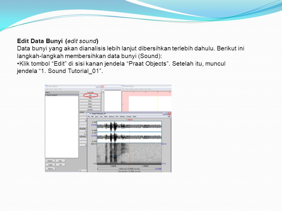 Edit Data Bunyi (edit sound)