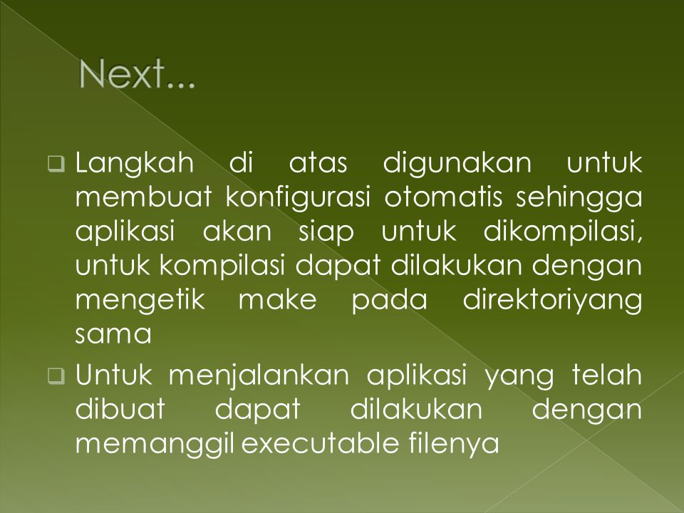 Next...