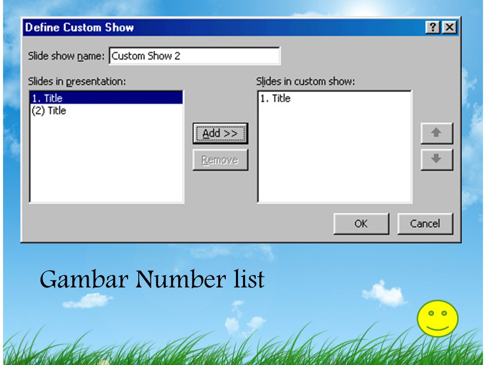 Gambar Number list
