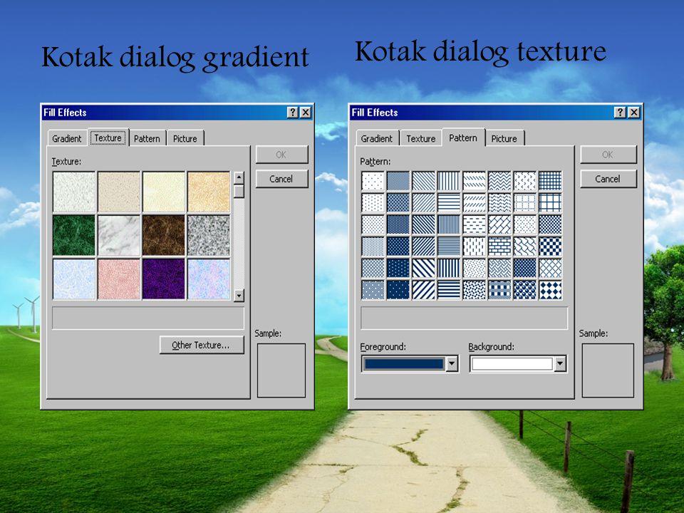 Kotak dialog texture Kotak dialog gradient