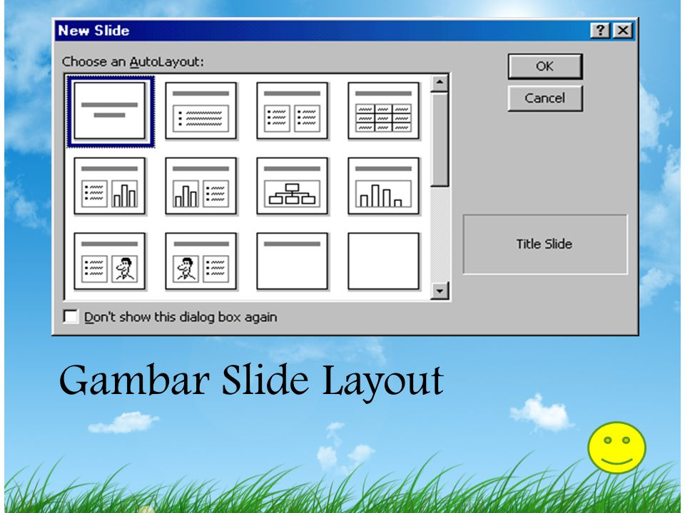 Gambar Slide Layout