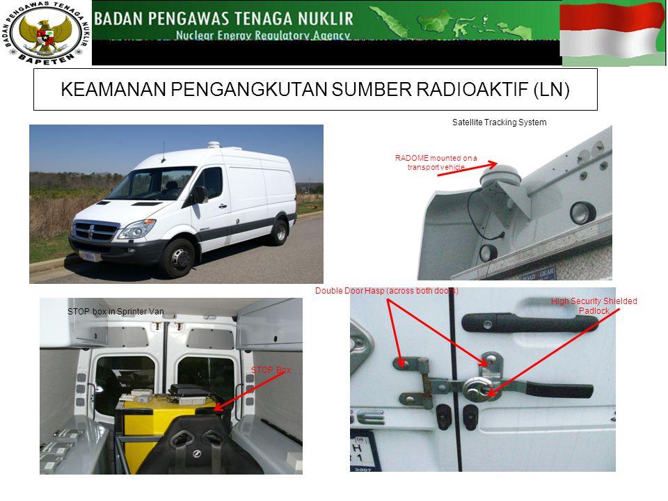 KEAMANAN PENGANGKUTAN SUMBER RADIOAKTIF (LN)