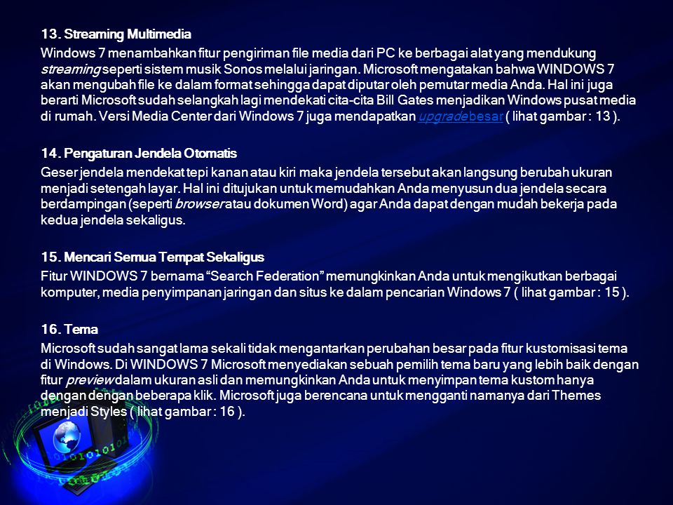 13. Streaming Multimedia