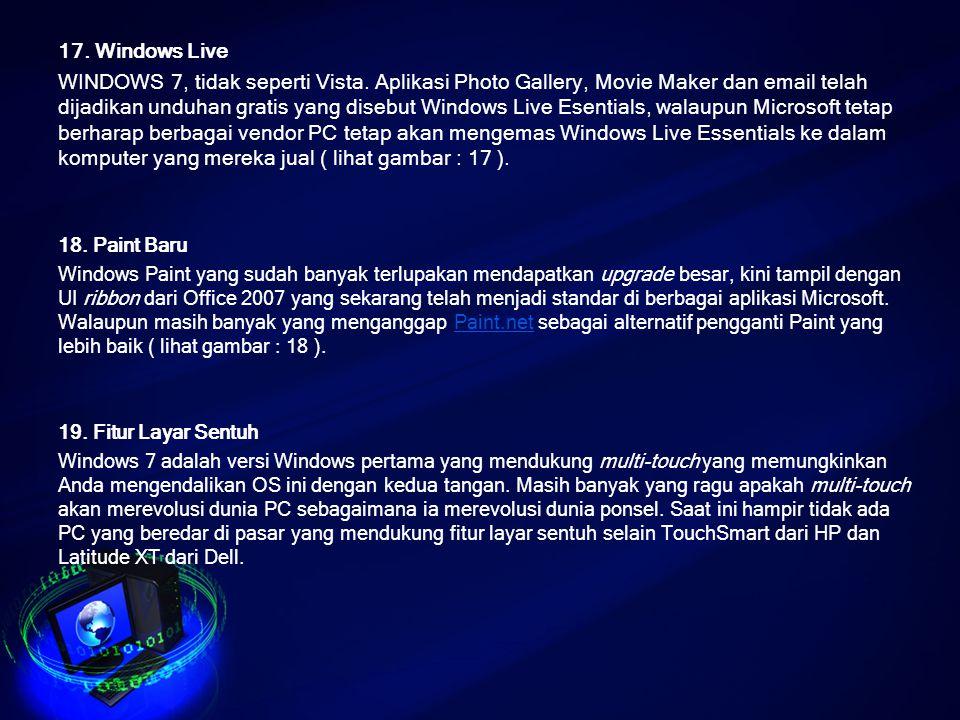 17. Windows Live