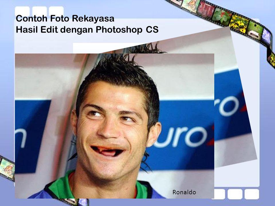 Contoh Foto Rekayasa Hasil Edit dengan Photoshop CS