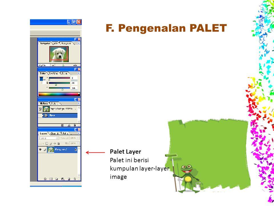 F. Pengenalan PALET