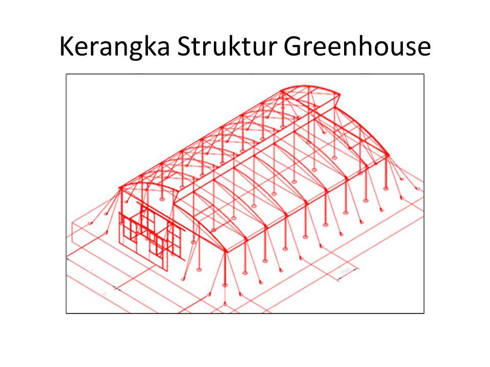 Kerangka Struktur Greenhouse
