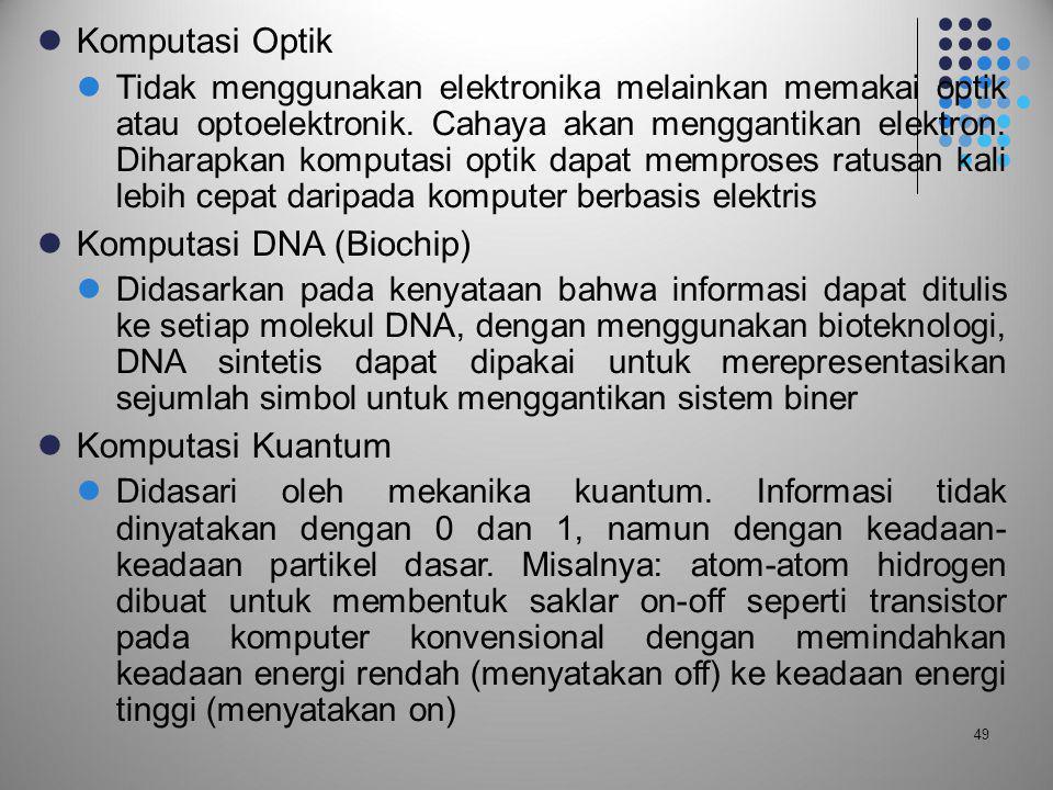 Komputasi DNA (Biochip)