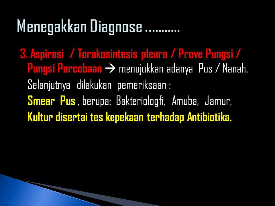 Menegakkan Diagnose ...........