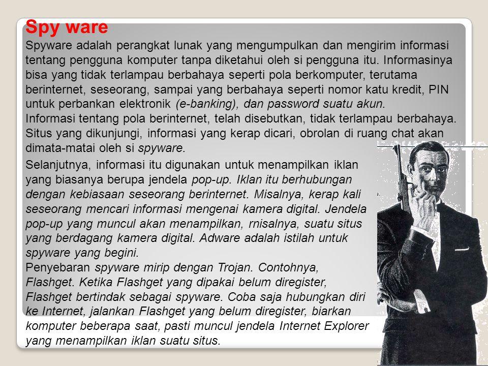 Spy ware