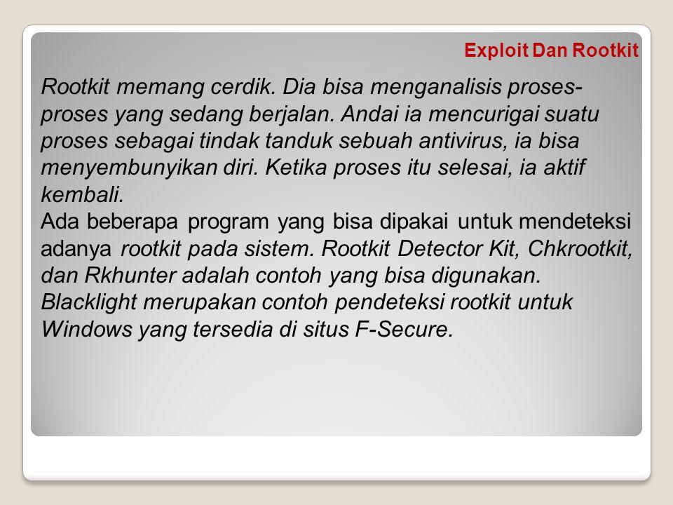 Exploit Dan Rootkit