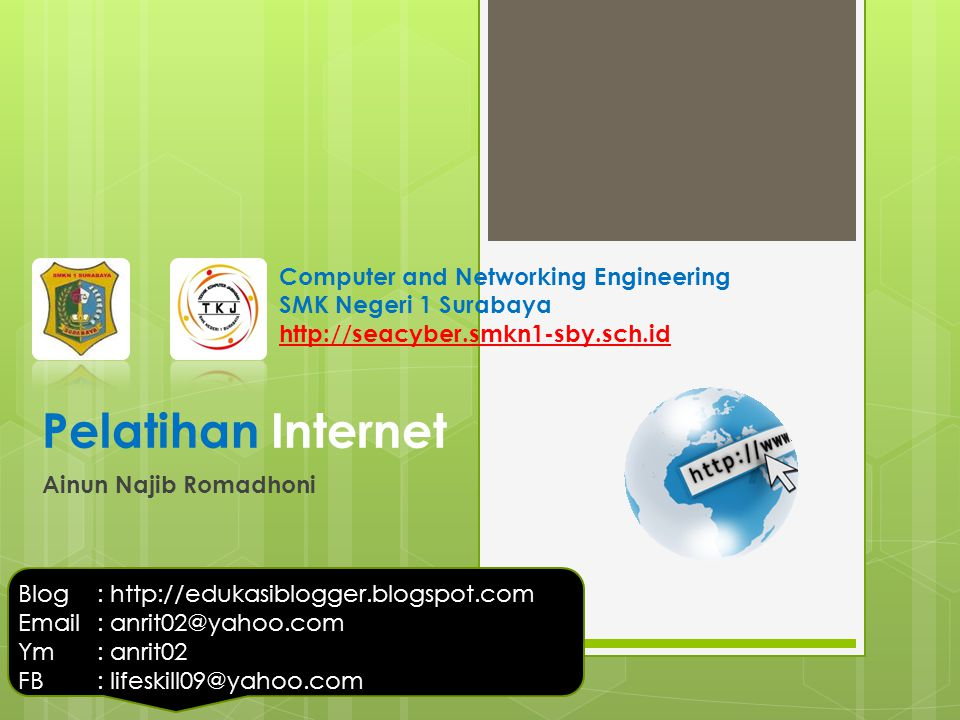 Pelatihan Internet Computer and Networking Engineering