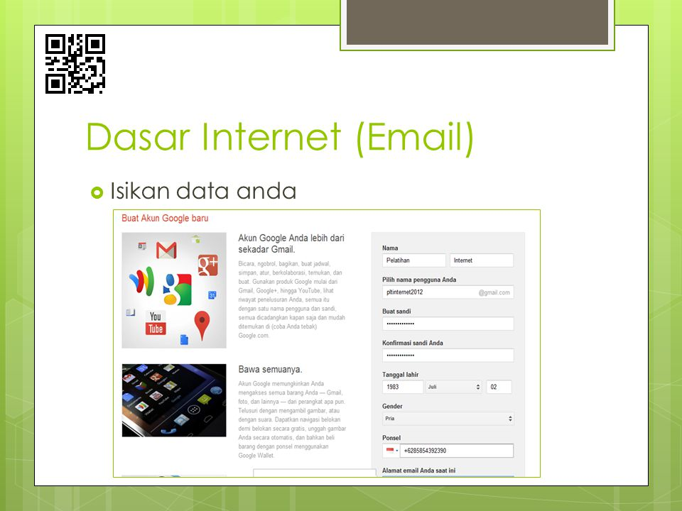 Dasar Internet (Email)