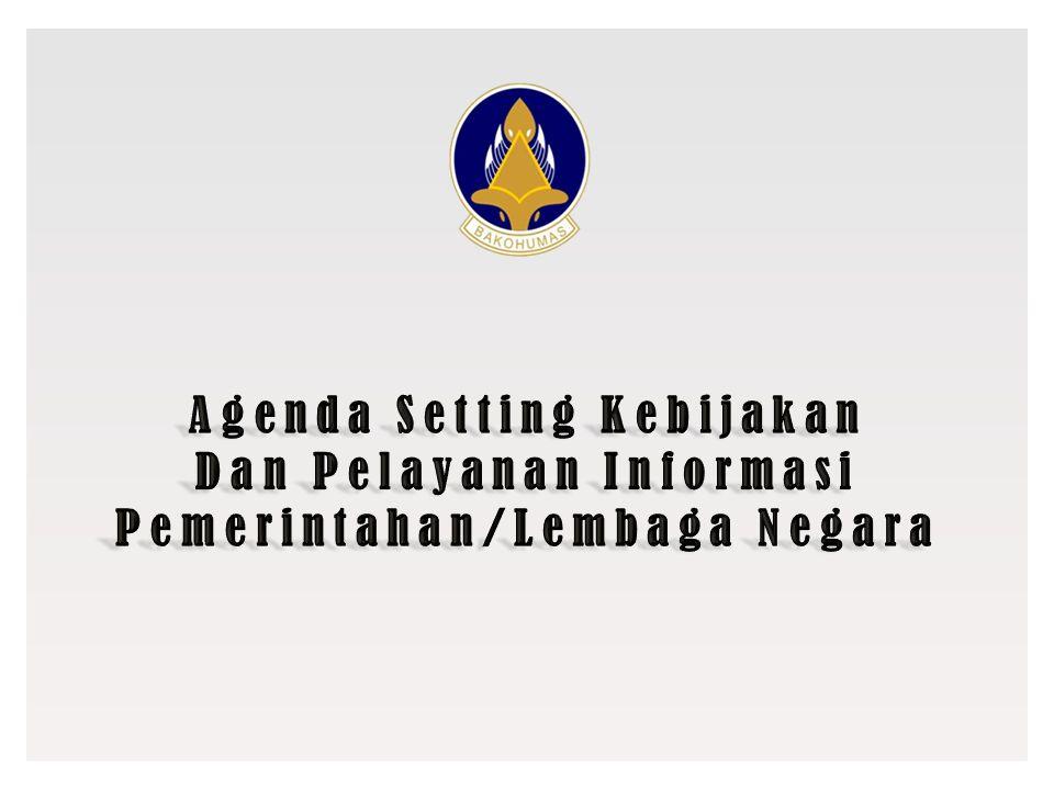 Agenda Setting Kebijakan