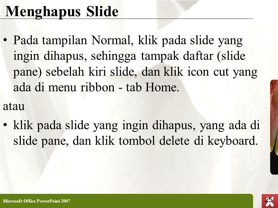 Menghapus Slide