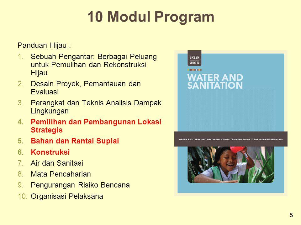 10 Modul Program Panduan Hijau :