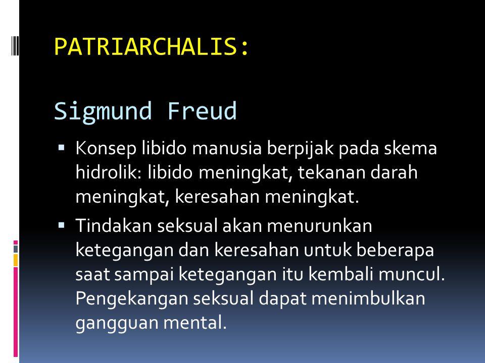 PATRIARCHALIS: Sigmund Freud