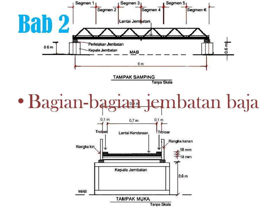 Bagian-bagian jembatan baja