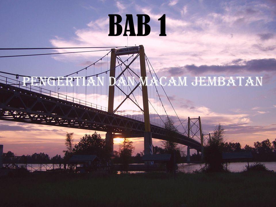 Pengertian dan Macam jembatan