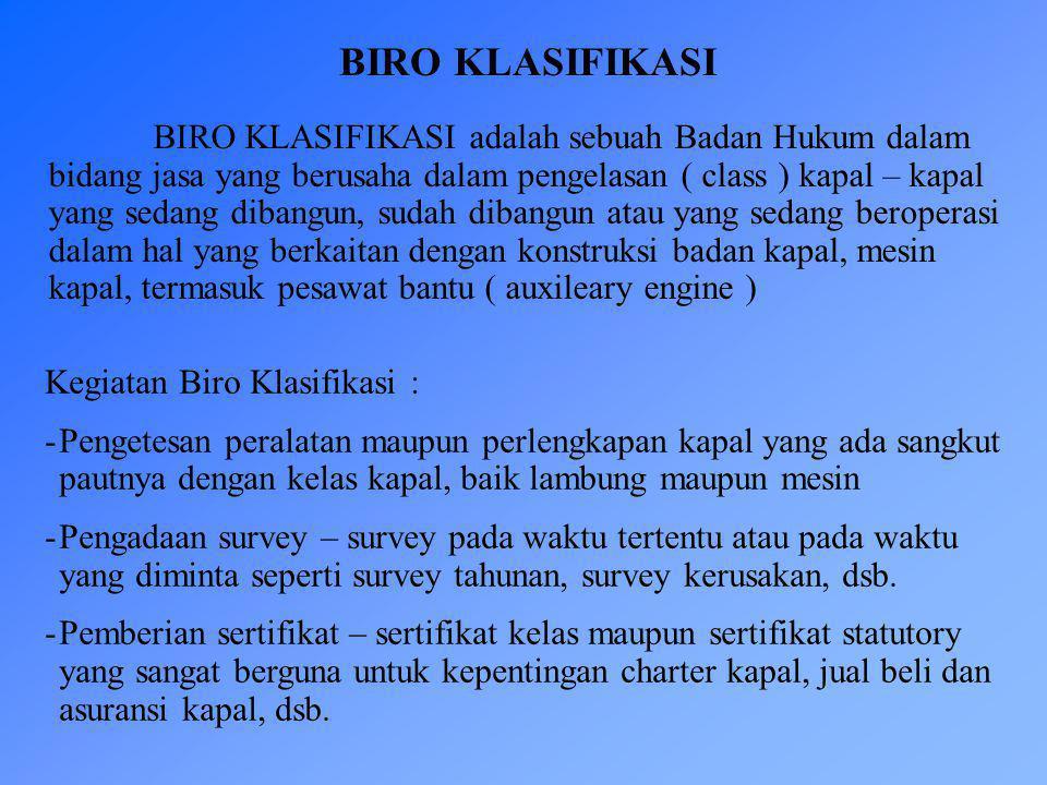 BIRO KLASIFIKASI