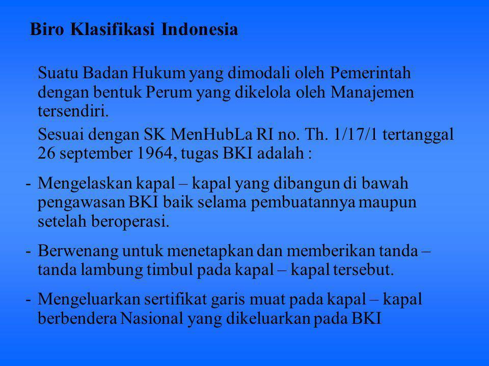 Biro Klasifikasi Indonesia