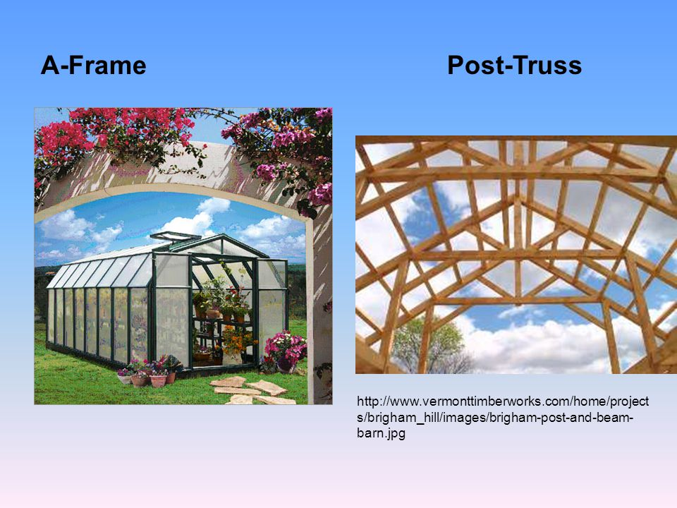 A-Frame Post-Truss.