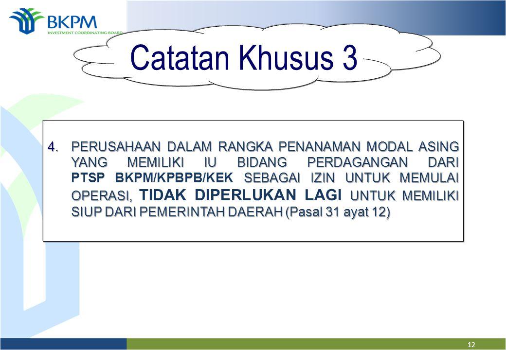 Catatan Khusus 3
