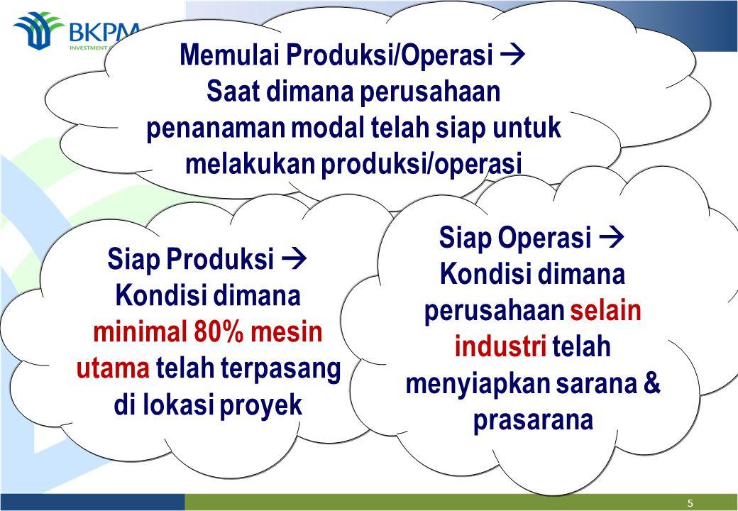 Memulai Produksi/Operasi 