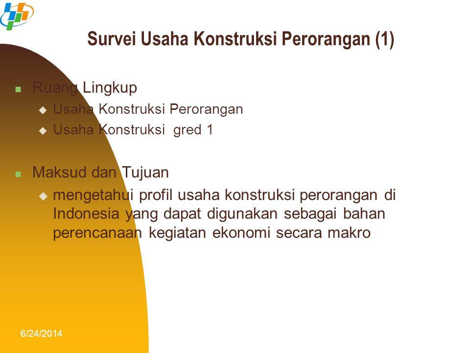 Survei Usaha Konstruksi Perorangan (1)