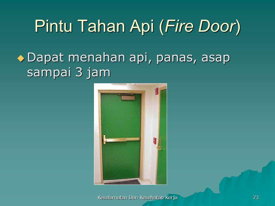 Pintu Tahan Api (Fire Door)